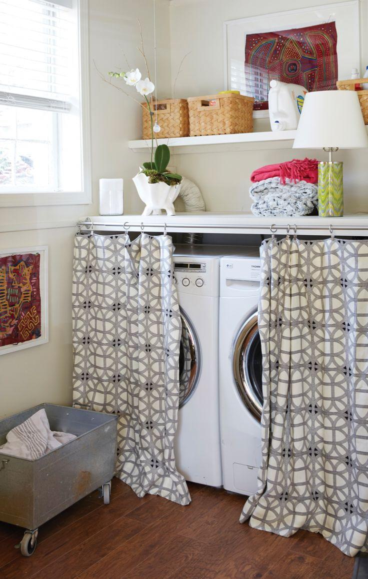 washing machine curtain