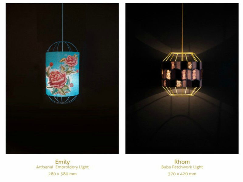 rhom fabric lights
