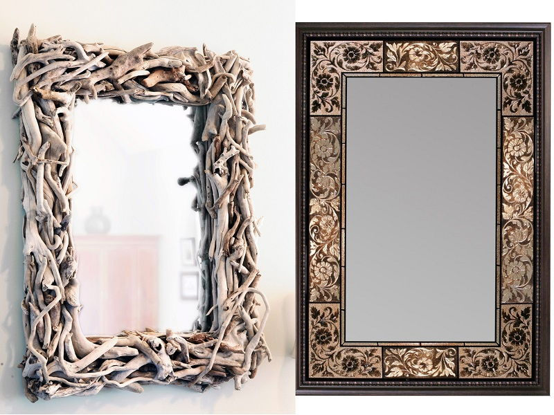 unique mirror frames