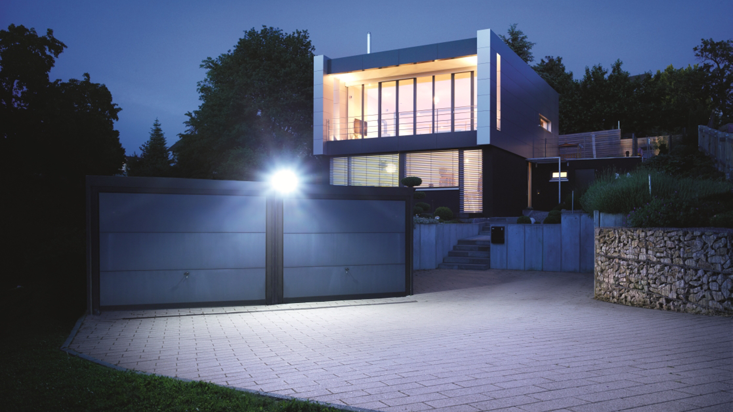 Flood light home