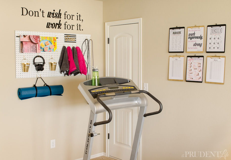 home gym decoration