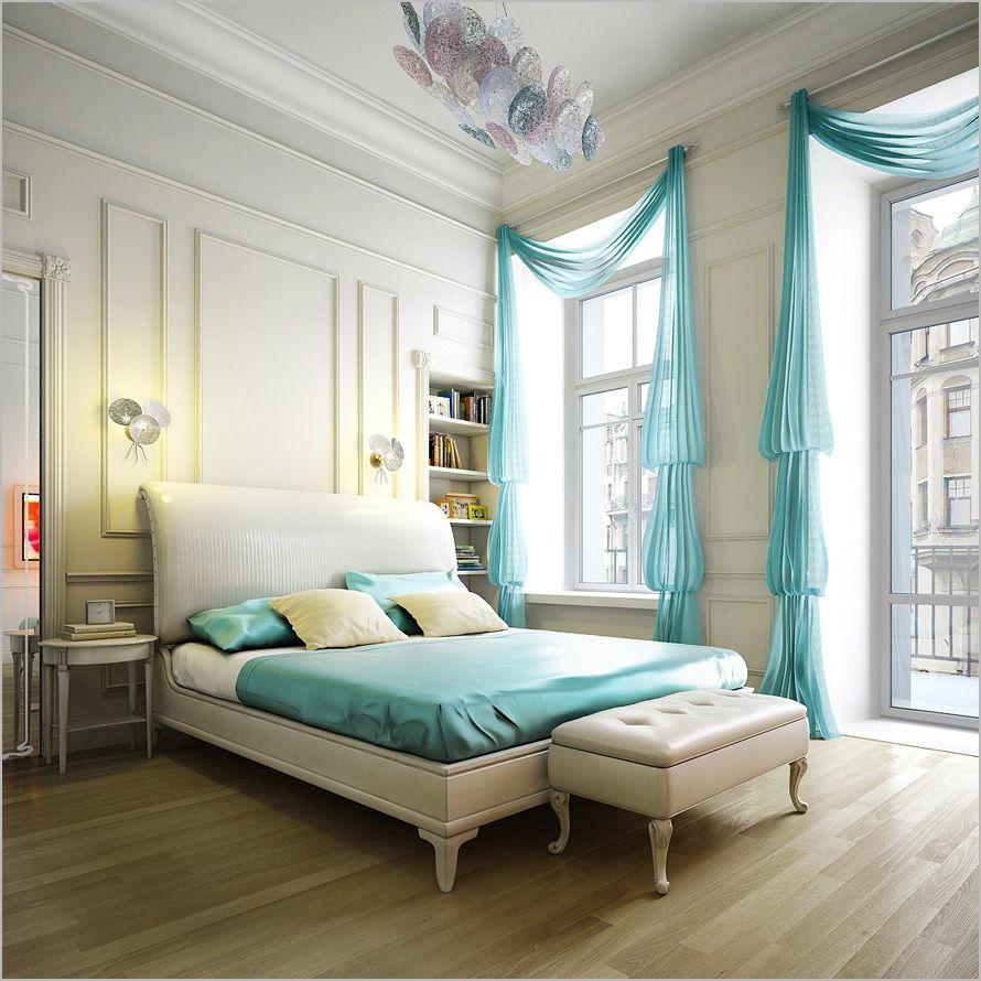 scarf curtain bedroom