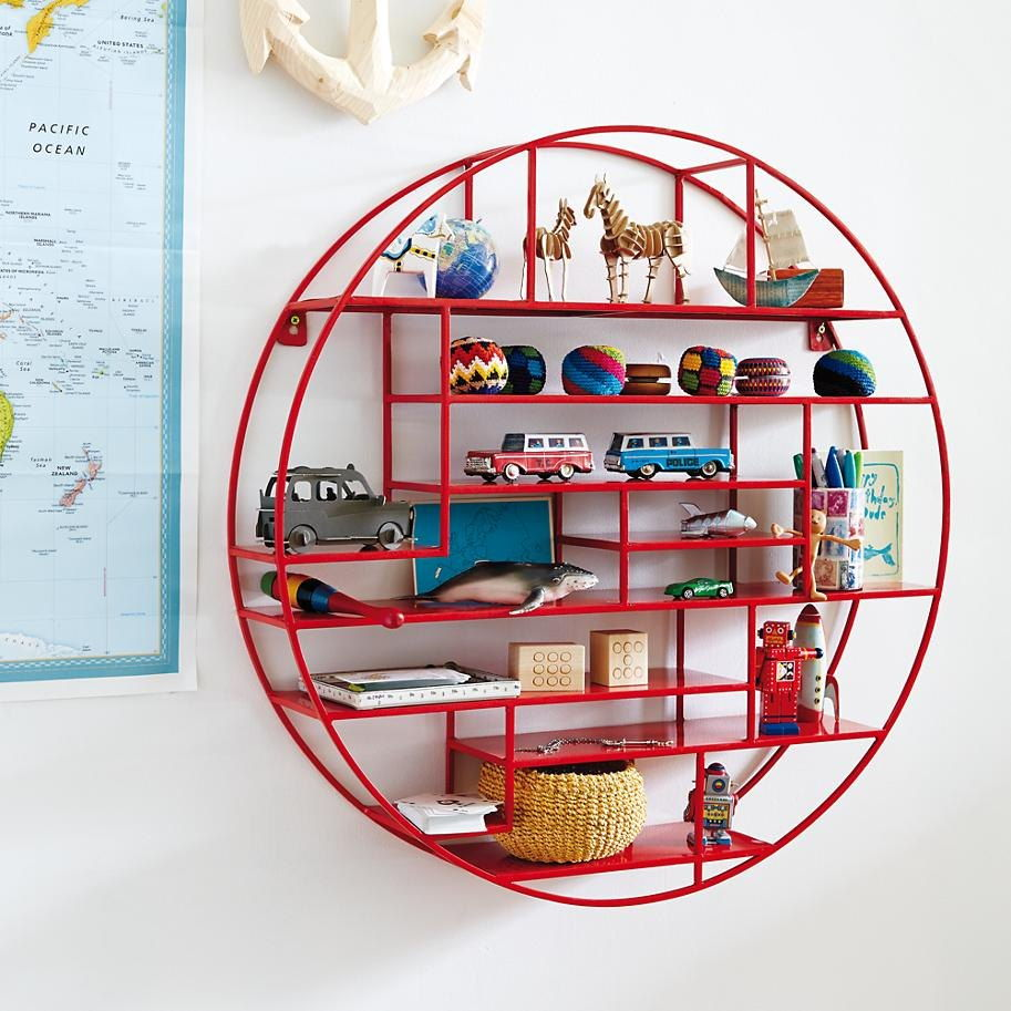 round display shelf