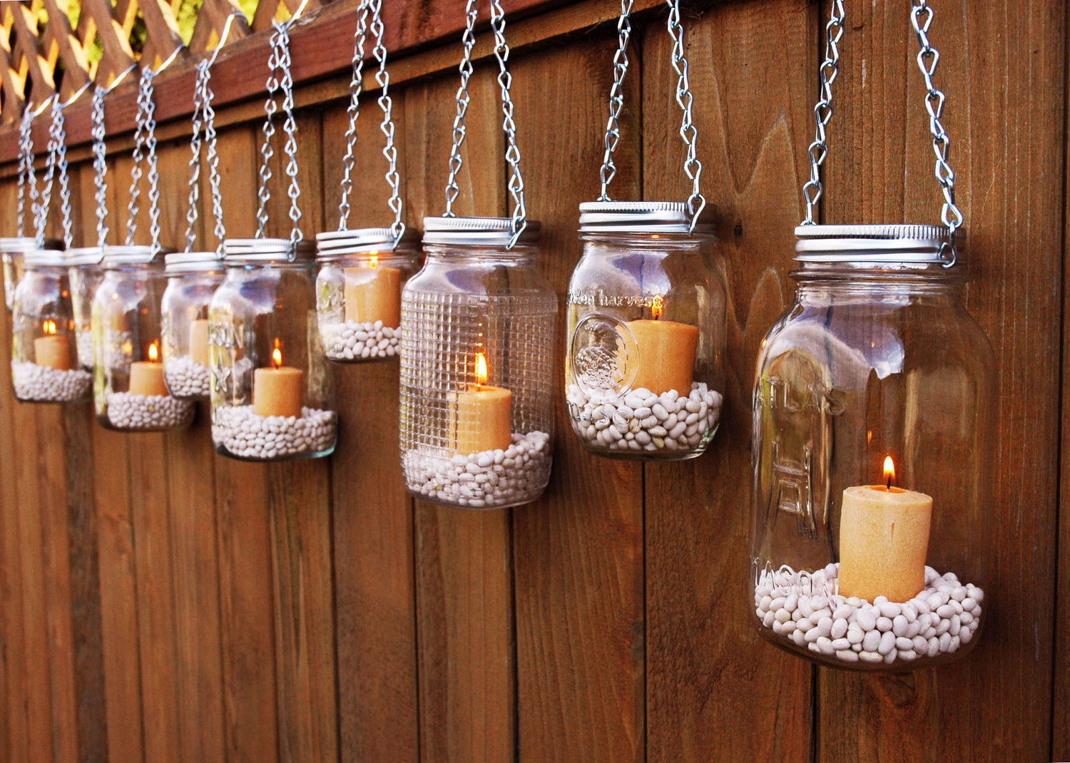 Outdoor candle home
