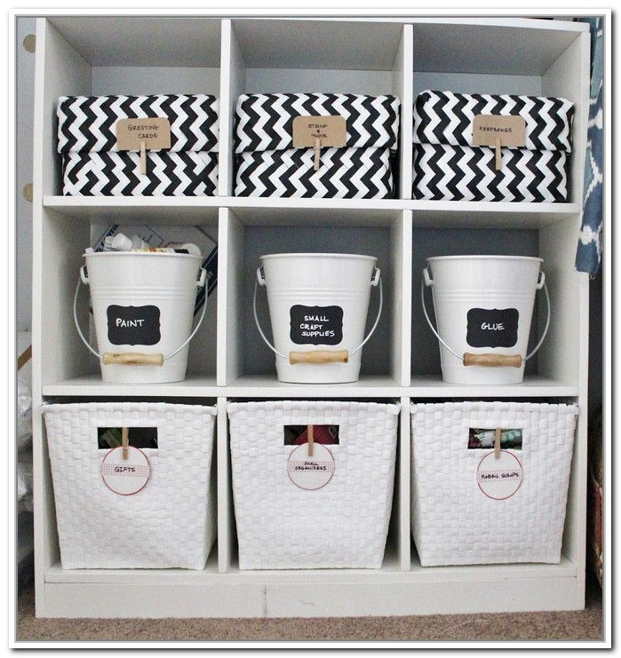 storage bins shelf