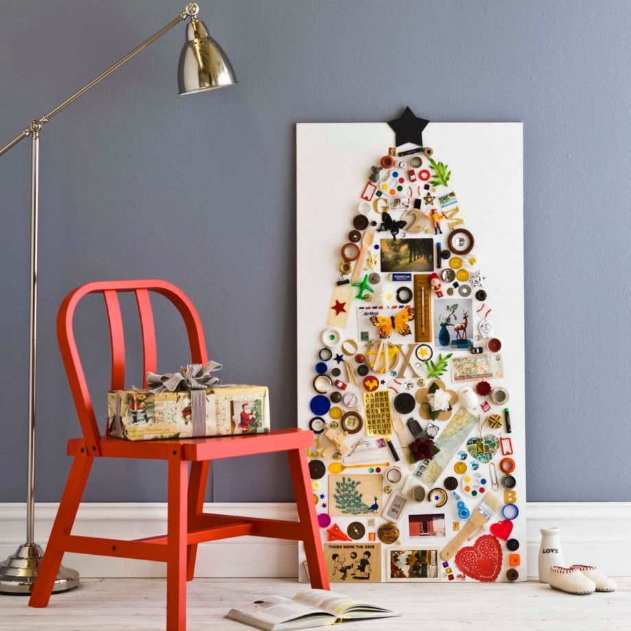 collage xmas tree