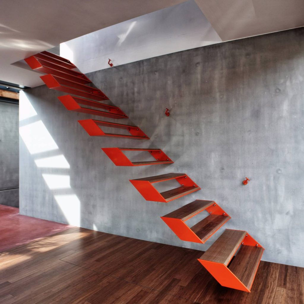 levitating stairs