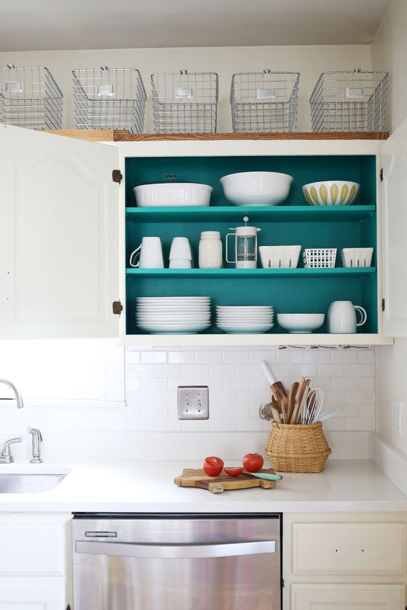 cupboard interior paint