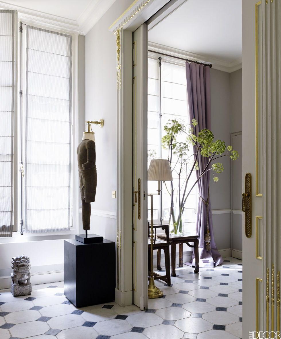 Parisian hallway interior