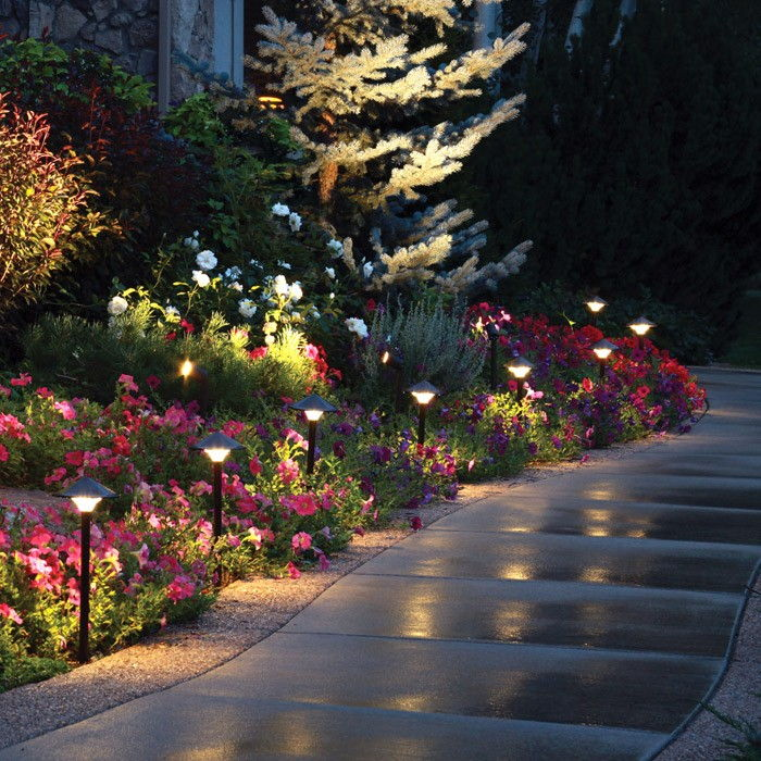 Walkway home lighting