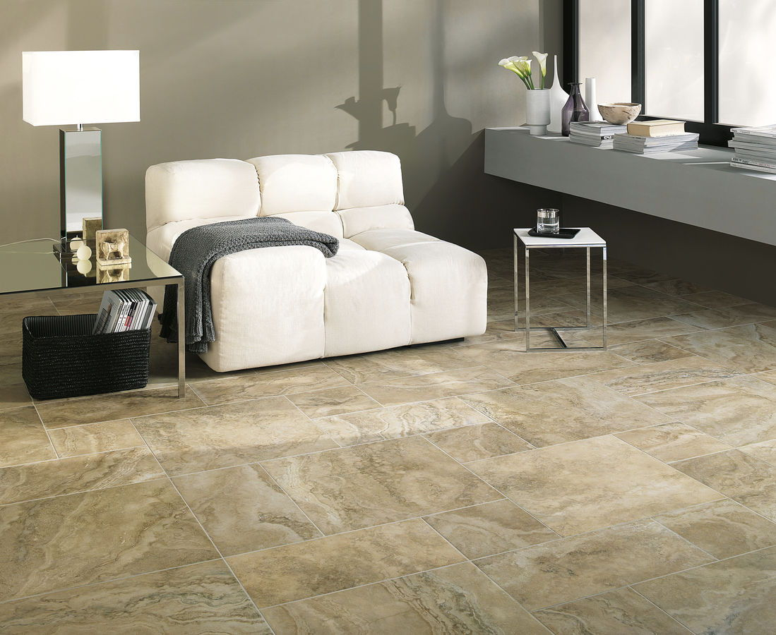 Marble tiles home