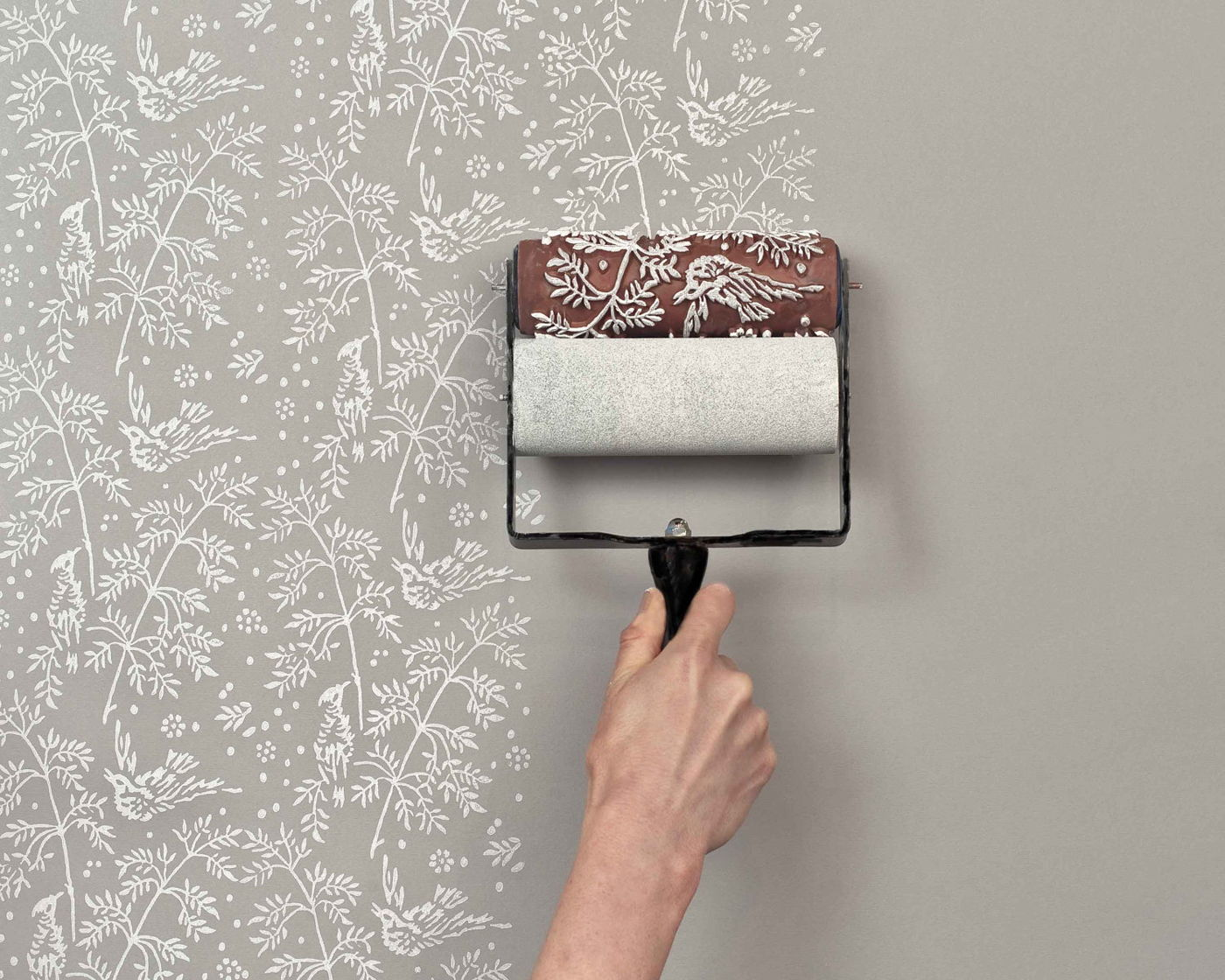 paint roller stencil