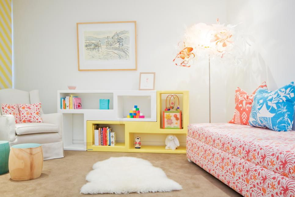 bright and playful colour scheme