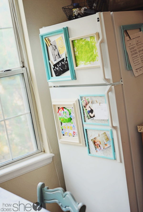 refrigerator photo frames