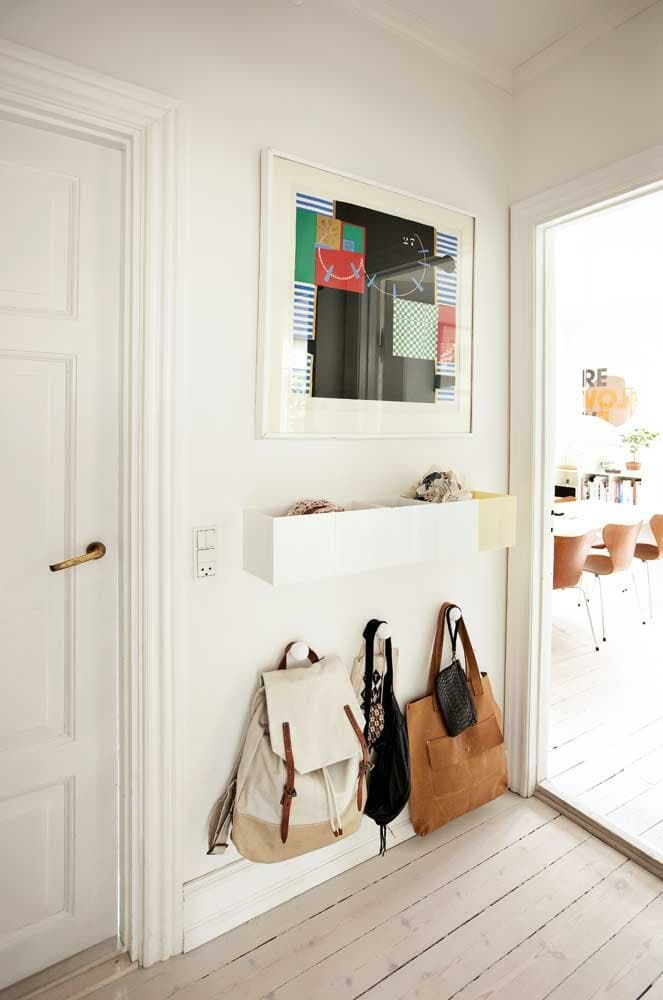 entryway shelf small space
