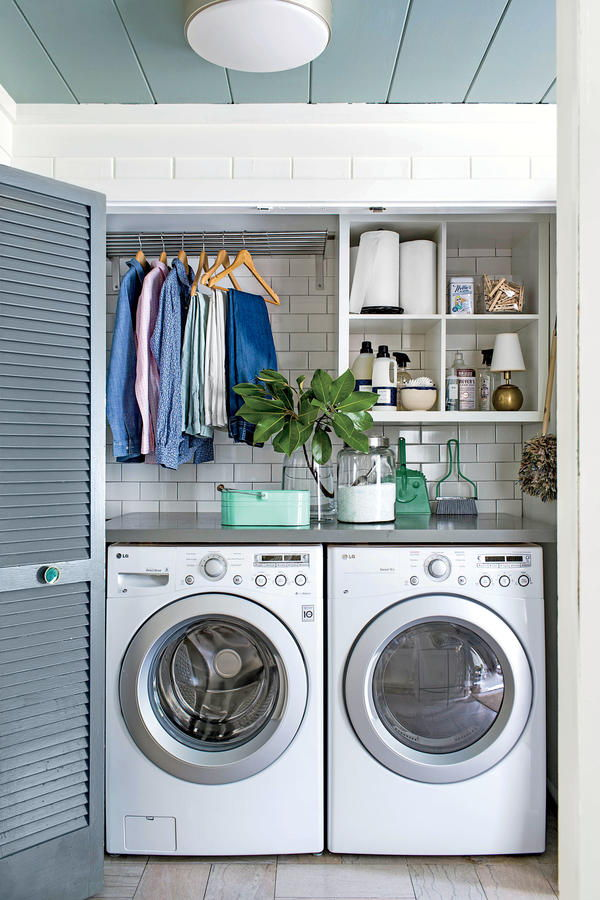 laundry room colours