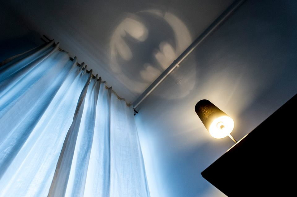 bat signal light