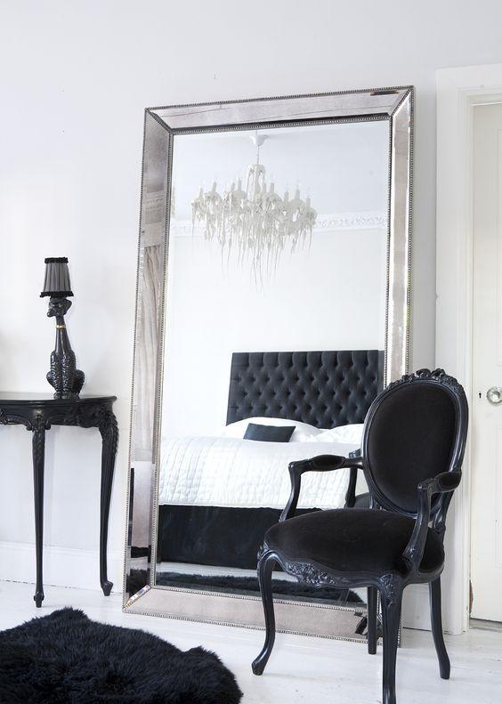 standing mirror bedroom