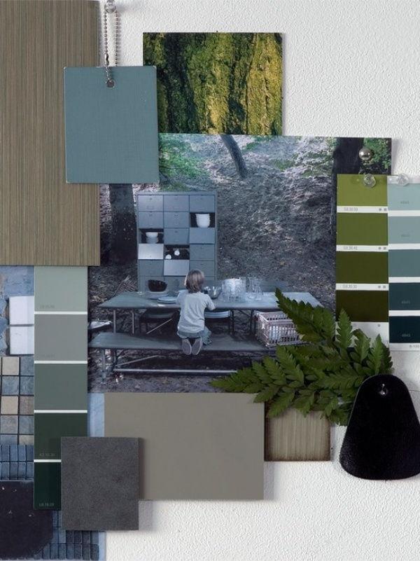 green concept board