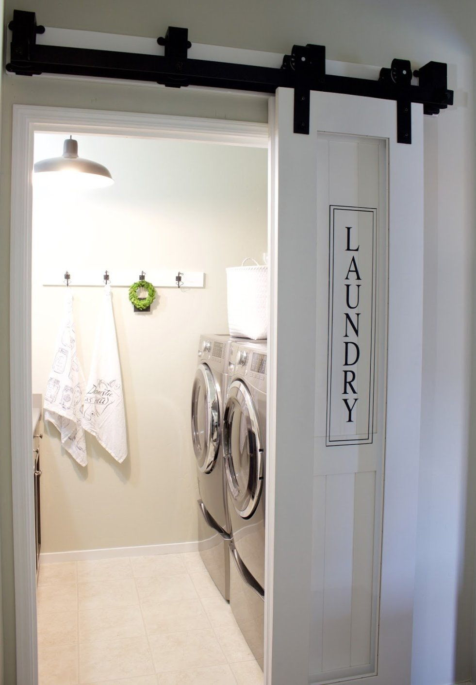 laundry room partition