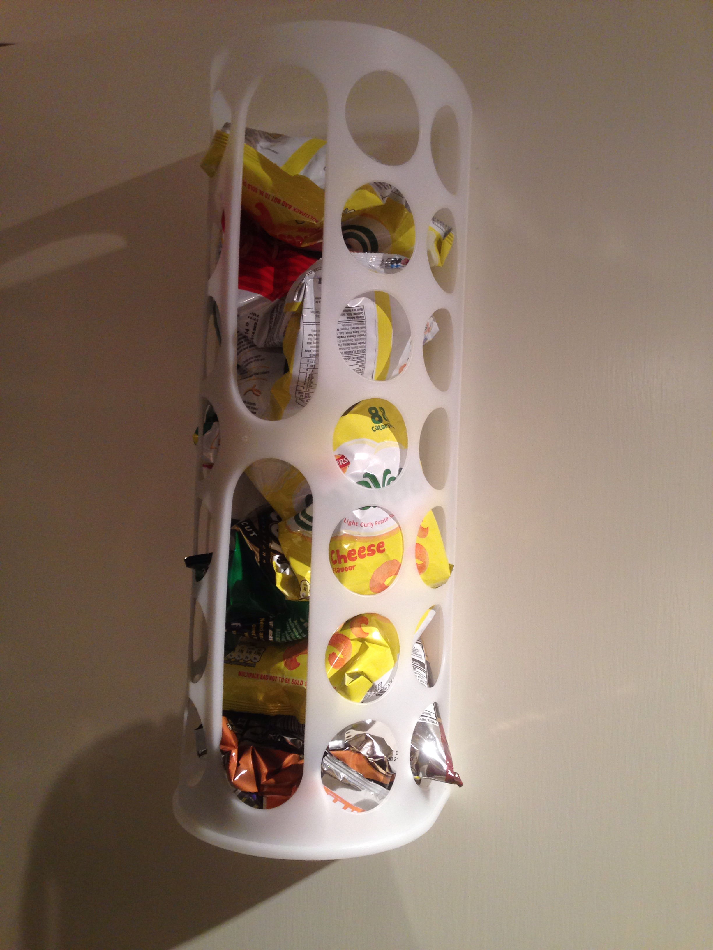 variera plastic bag dispenser potato chips