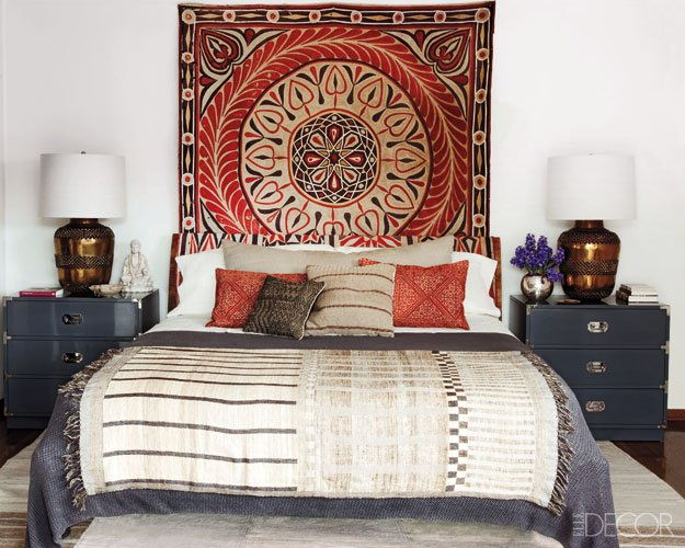 ellen Pompeo master bedroom