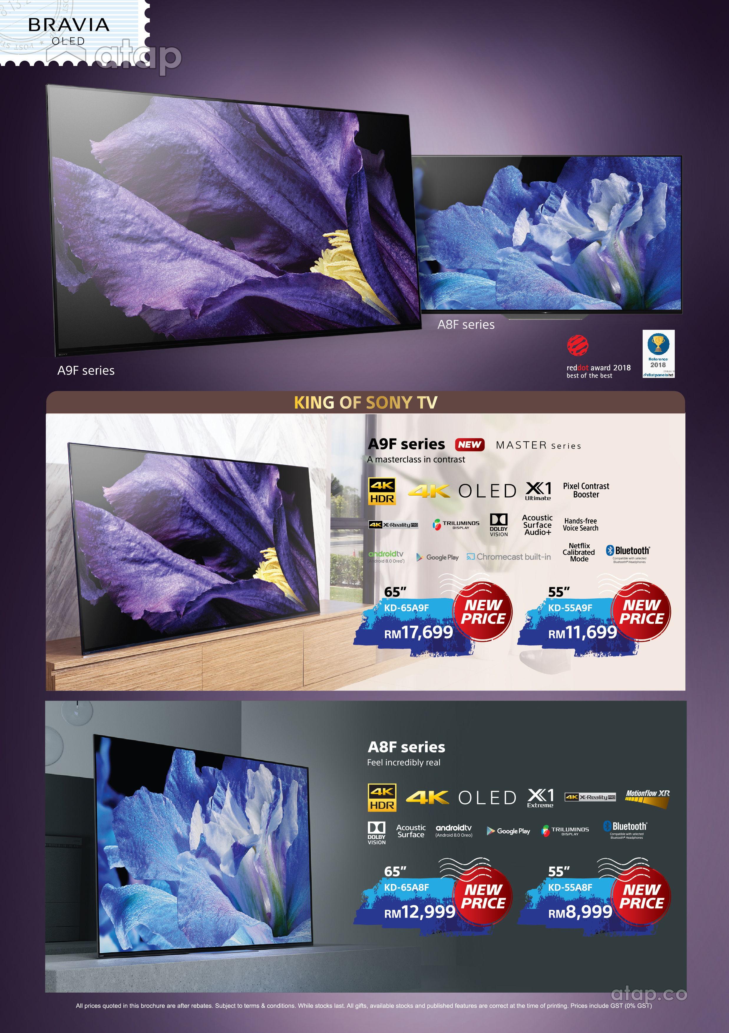 Sony Bravia A9F OLED TV