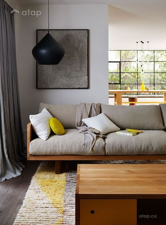 big cushion sofa