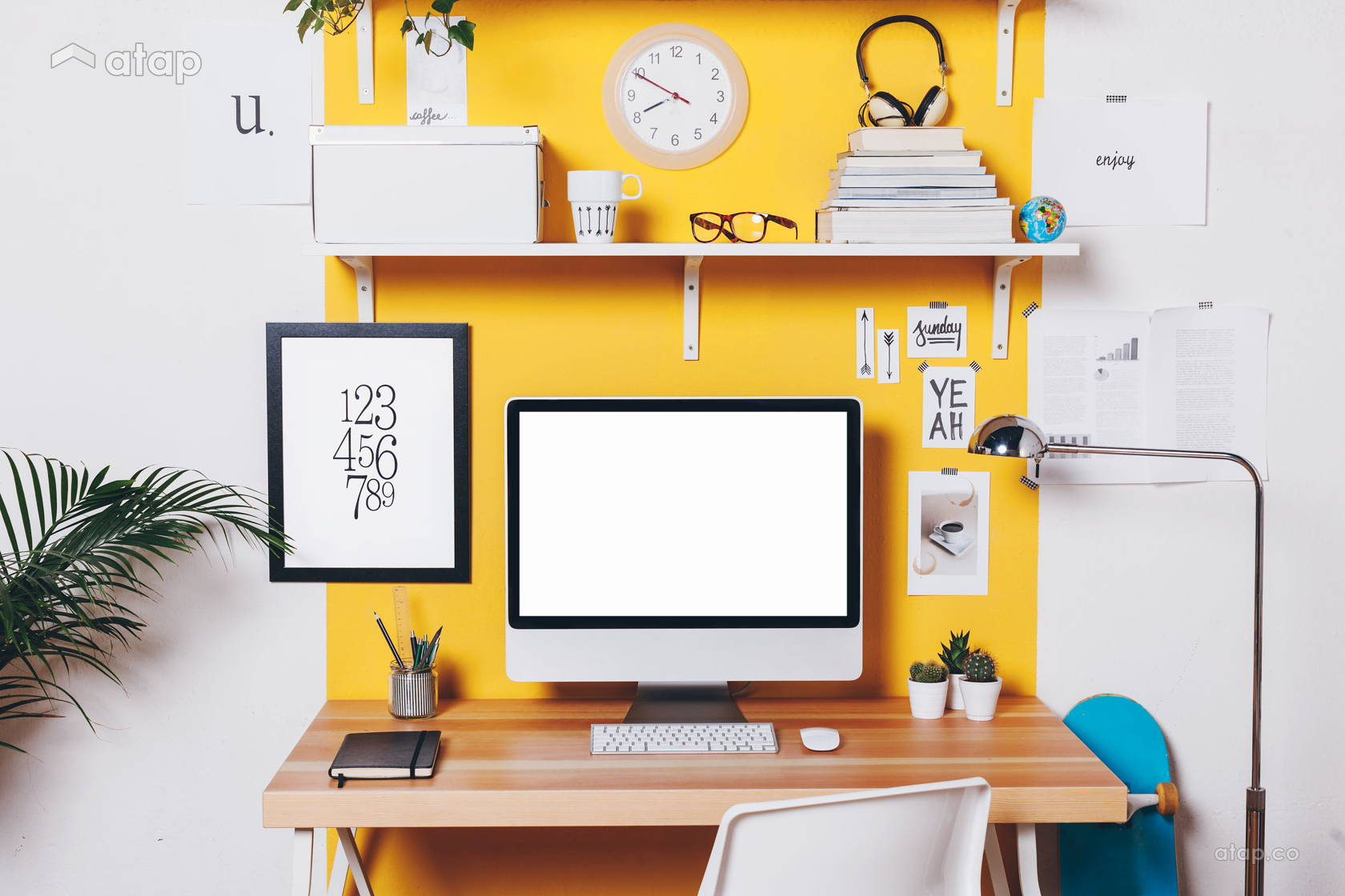 Surprising 7 Home Office Ideas That Will Get Your Creative Juices Flowing Largest Home Design Picture Inspirations Pitcheantrous
