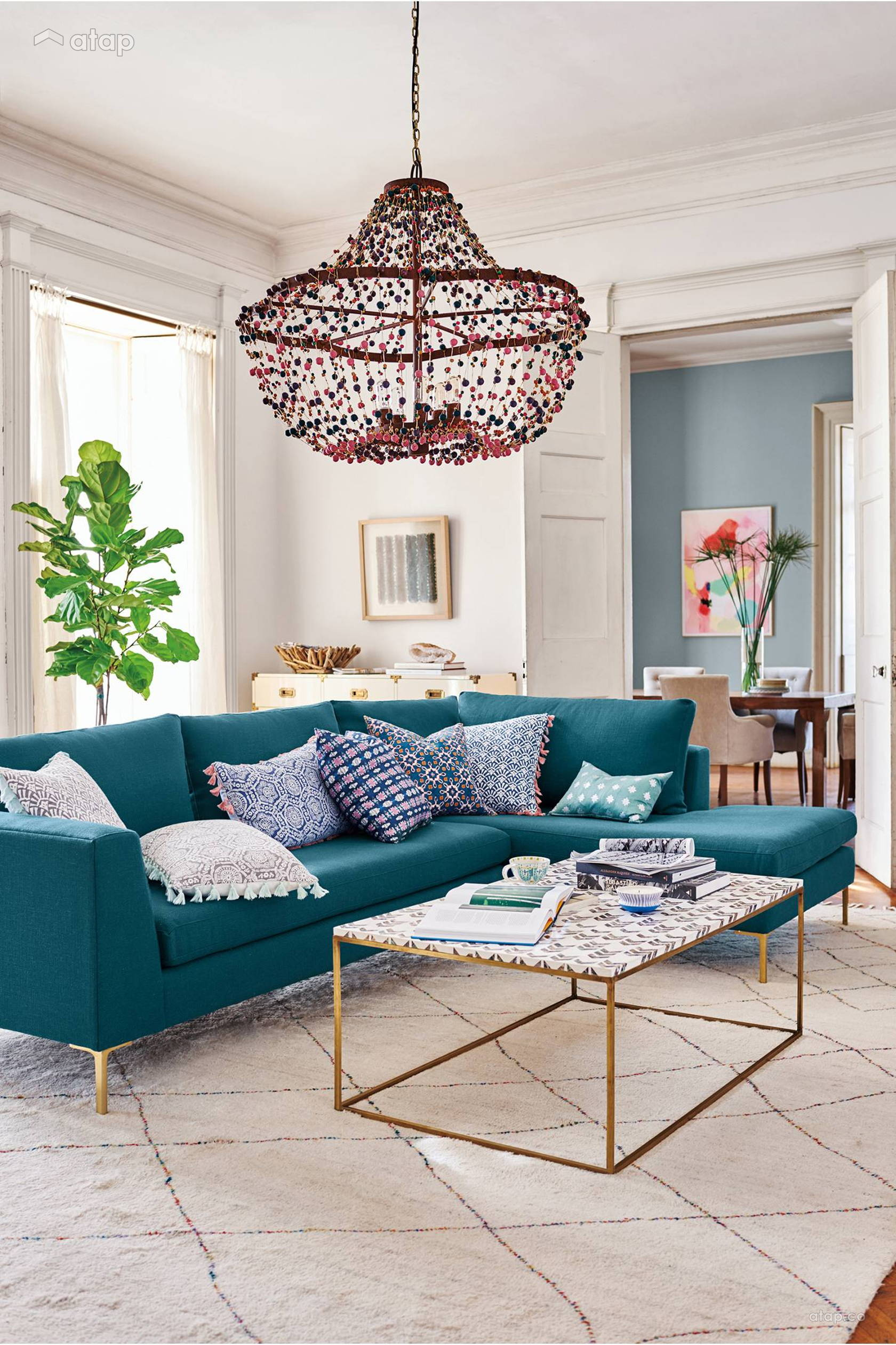 A Beginners Guide To Pulling Off Mismatched Furniture