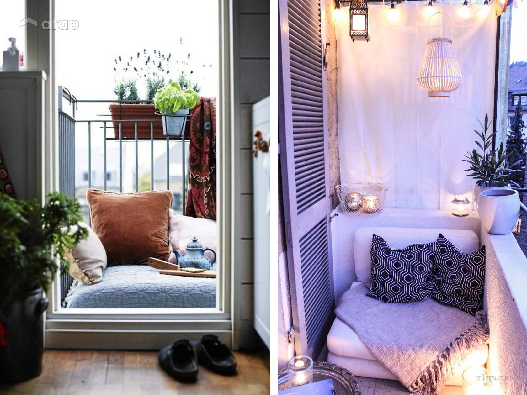 Why size doesn 39 t matter 22 fun ideas for small balconies for Cool apartment patio ideas