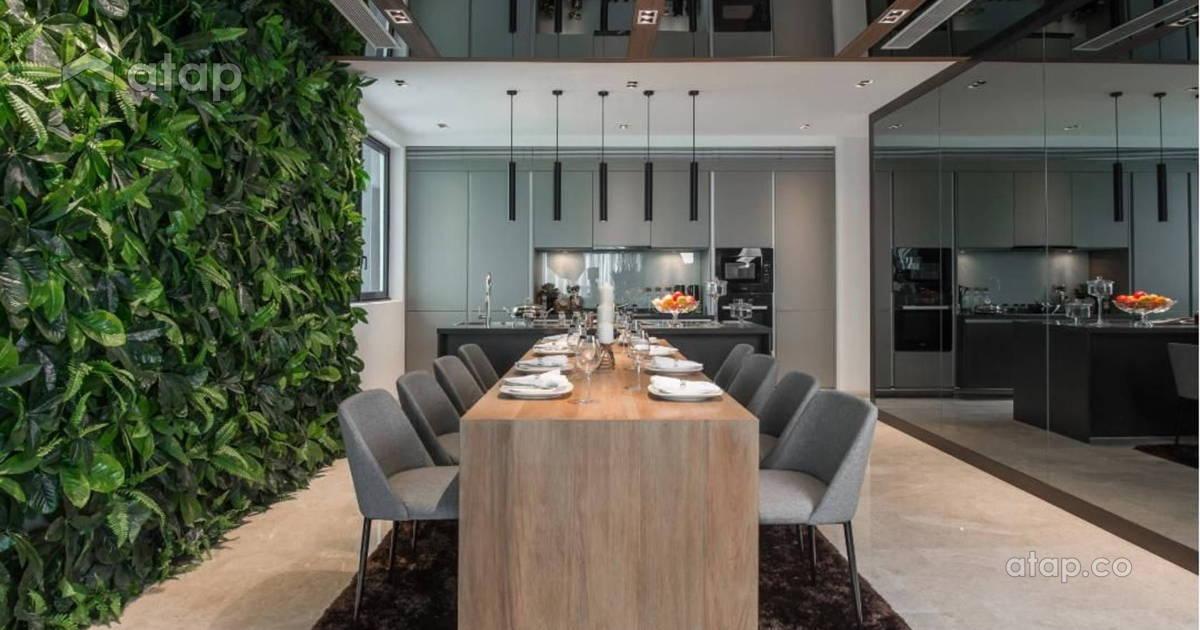 16 Stylish Dining Room Designs In Kuala Lumpur | Atap.co
