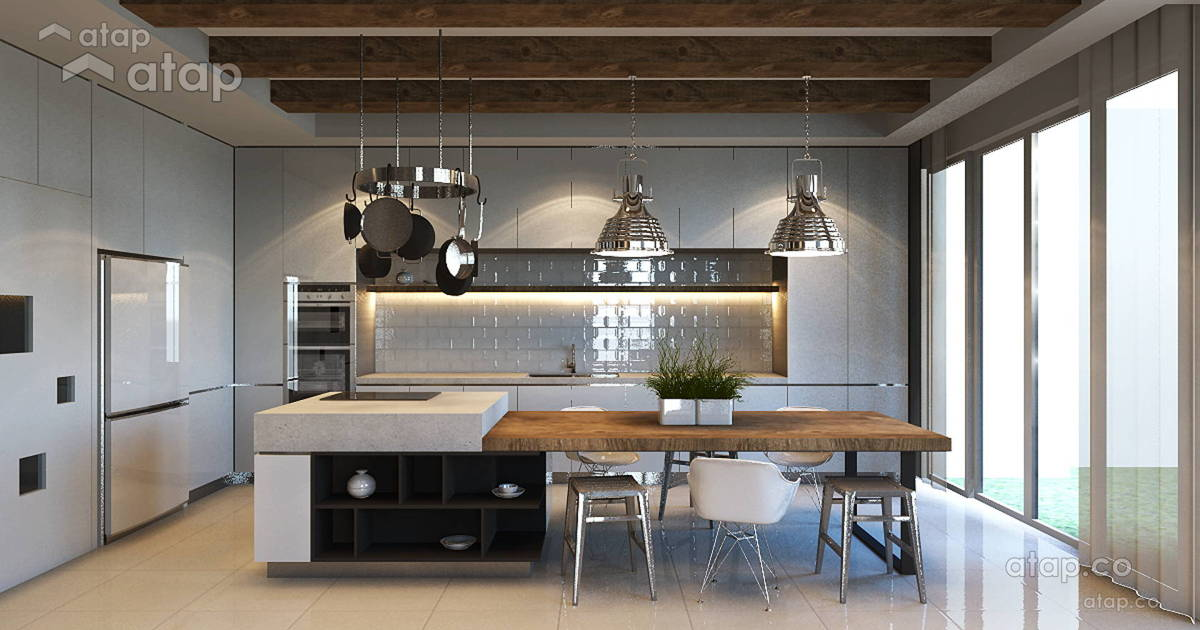 2020 Is The Year Of Kitchen Remodels And These Malaysian Designs Will Inspire You Atap Co