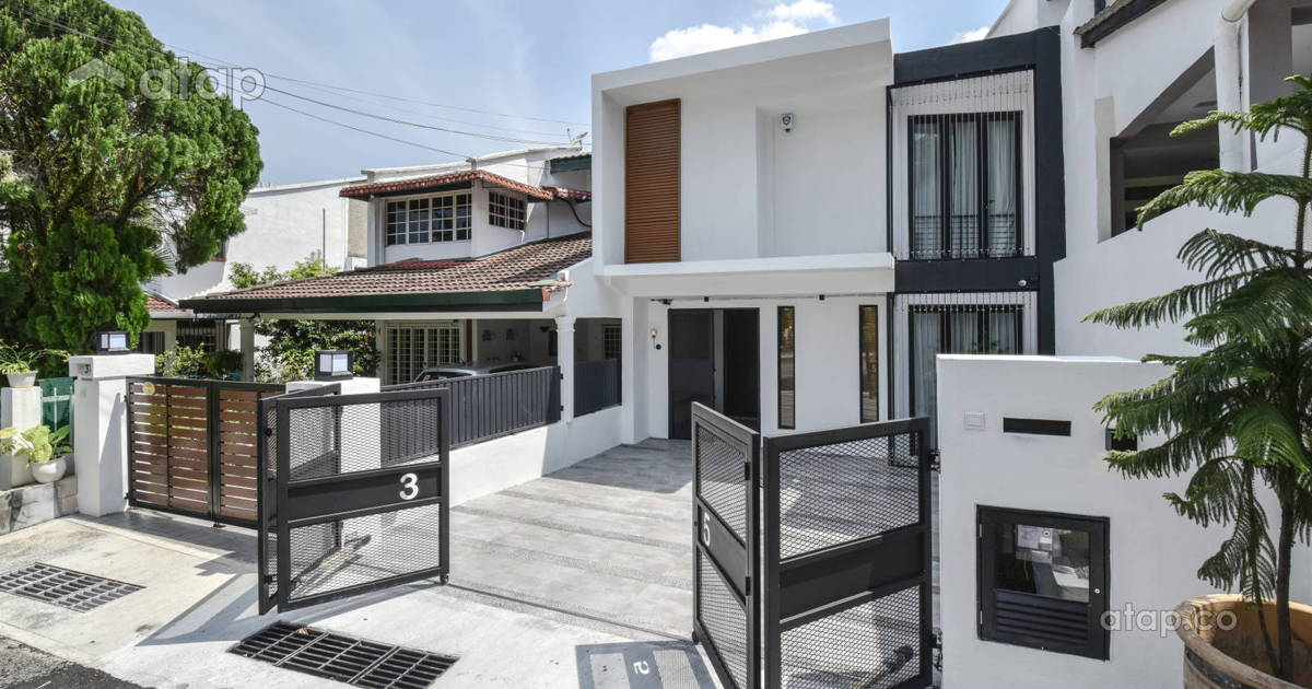 Classy And Stylish Terrace House Designs In Malaysia | Atap.co