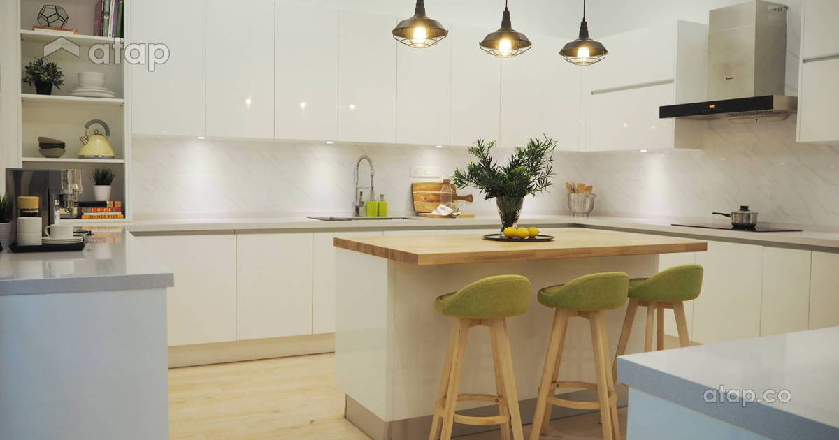 Modern Kitchen Cabinet Designs By Malaysian Interior Designers