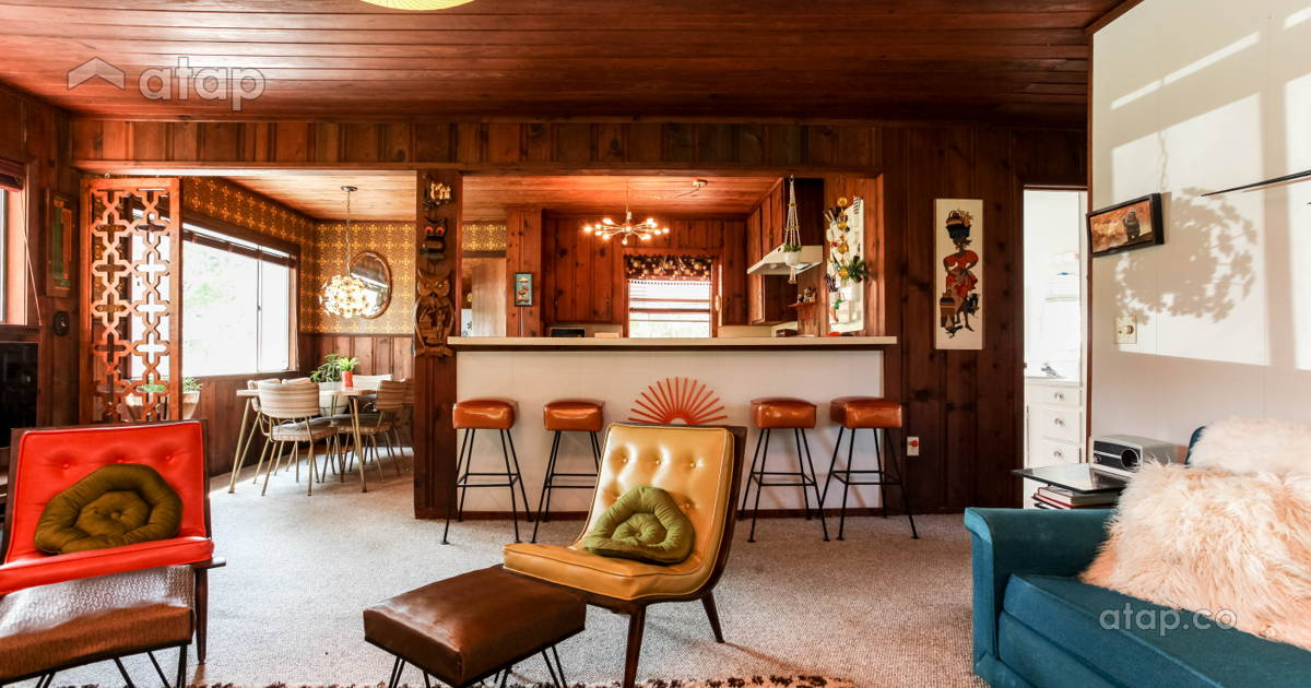 Updating Past Trends Interior Design Favourites from the 50s 70s