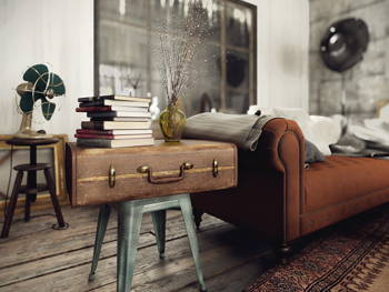 Spruce Up Your Living Room With These Easy DIY Projects
