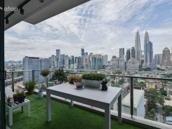 10 Balcony Ideas You Can Steal from These Malaysian Homes