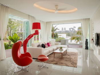 1 room 2 spaces how to separate your open plan living for Living room design johor bahru