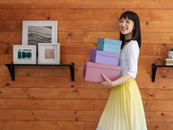 Marie Kondo's Tidying Methods Will Make You Want to Organise Your Home This Instance