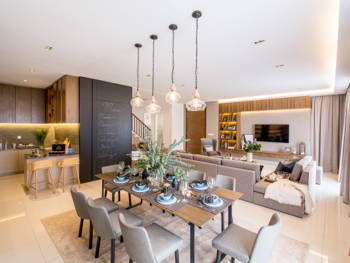 Diving Into the Design: There's Something for Everyone in This Stylish Family Home