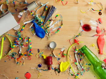 Post Party Clean Up Tips You'll Be Needing