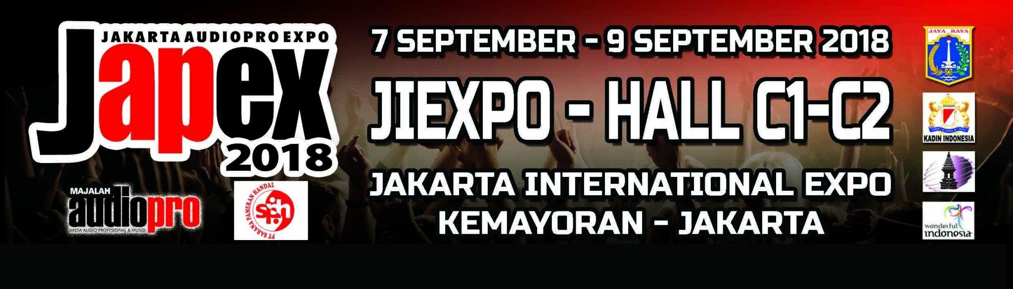 PAMERAN INSTRUMEN MUSIK DAN PRO AUDIO AKAN DIADAKAN DI JAKARTA JAPEX 2018