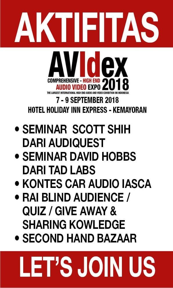 AKTIVITAS AVIDEX 2018