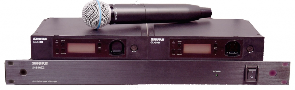 SHURE UA846Z2LC FREQUENCY MANAGER UNTUK GLX-D ADVANCED