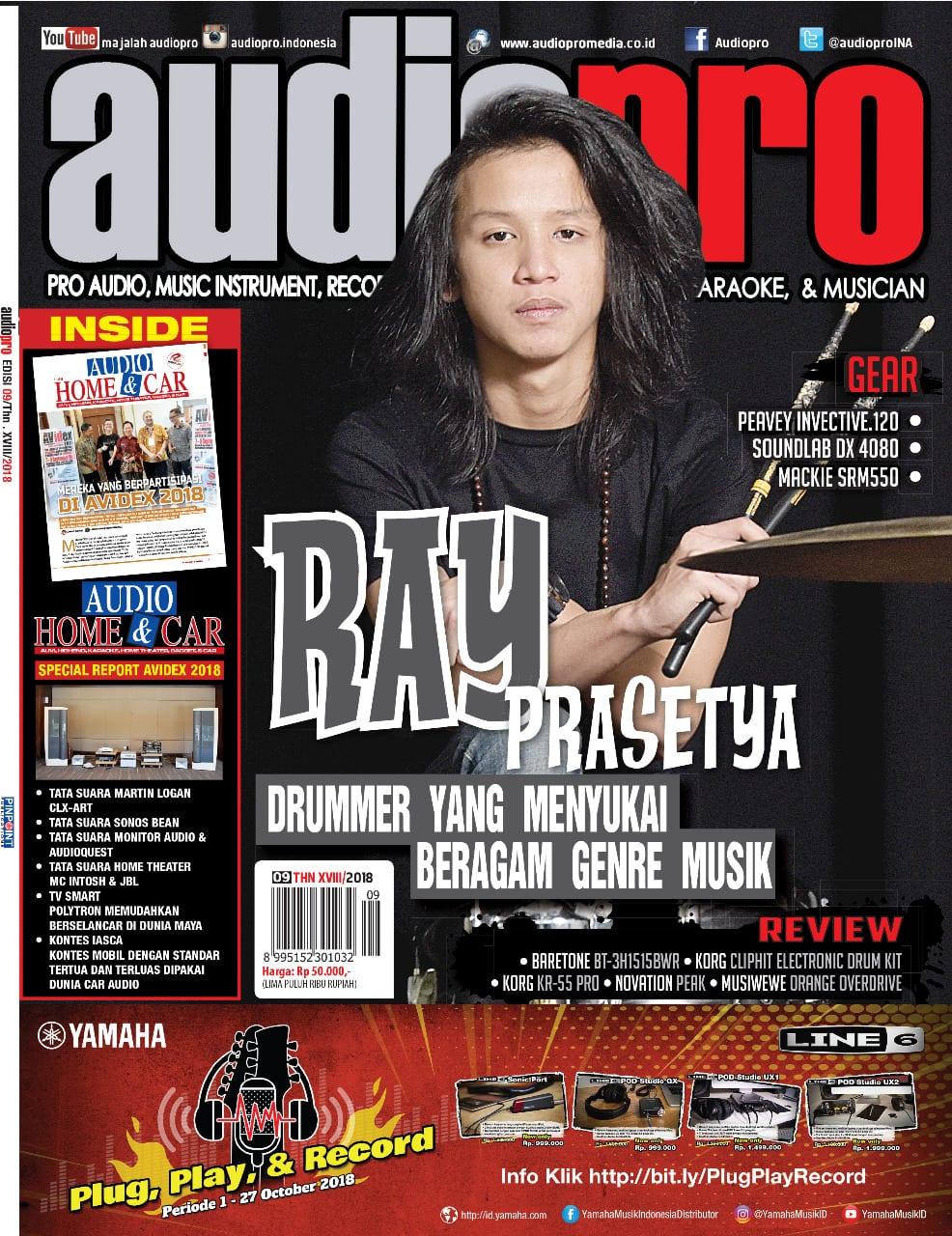 UPDATE TERBARU COVER MAJALAH AUDIOPRO EDISI 09 2018