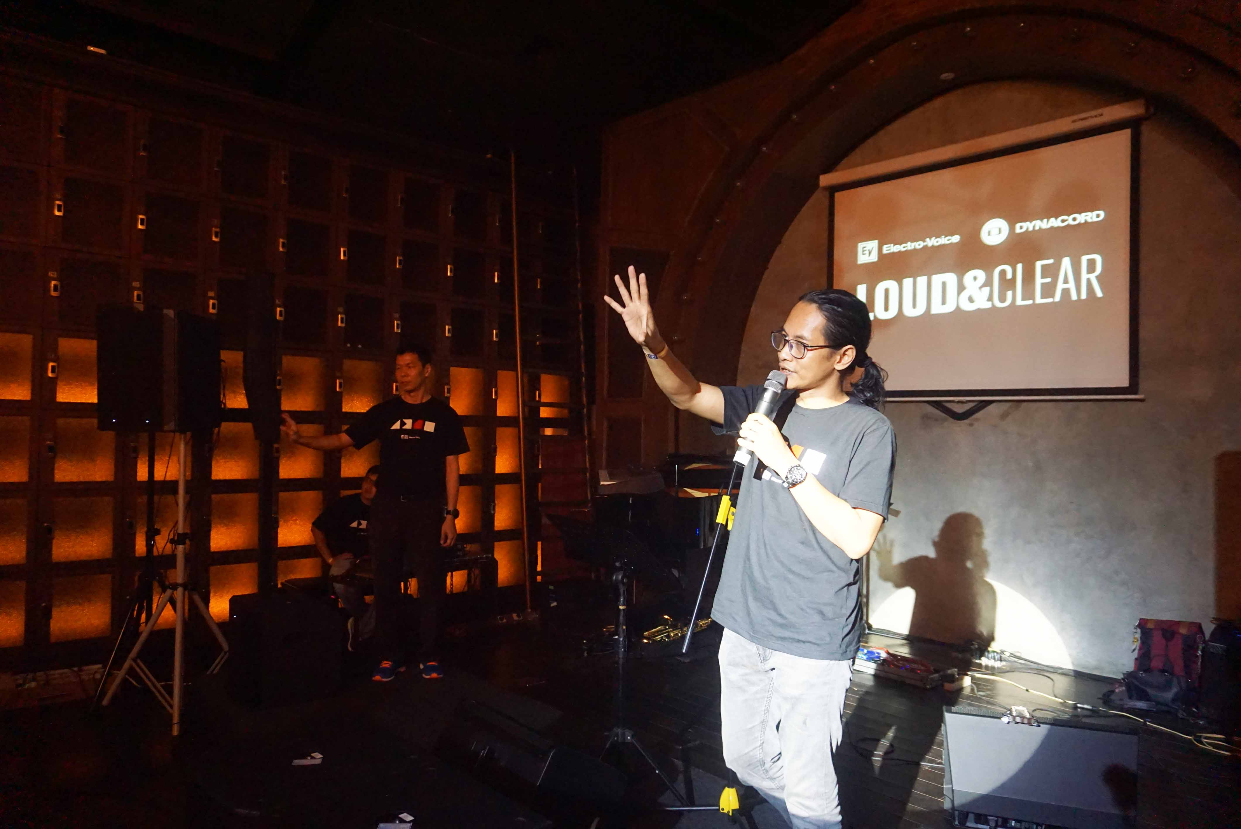 'LOUD & CLEAR INDONESIA' PRODUK LAUNCH