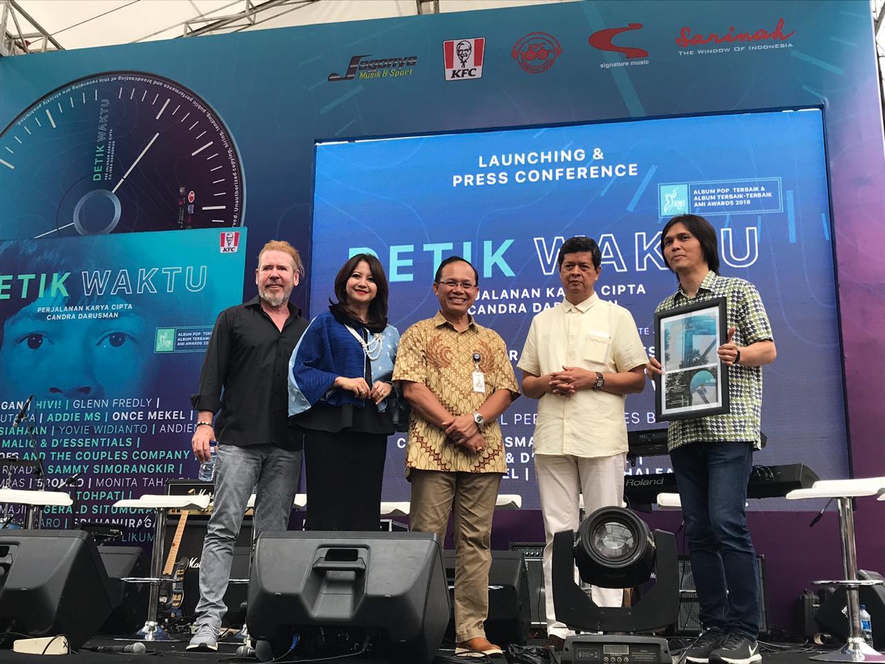 Rilis Ulang 'Detik Waktu Perjalanan Karya Cipta Candra Darusman' , Tambah 2 Lagu
