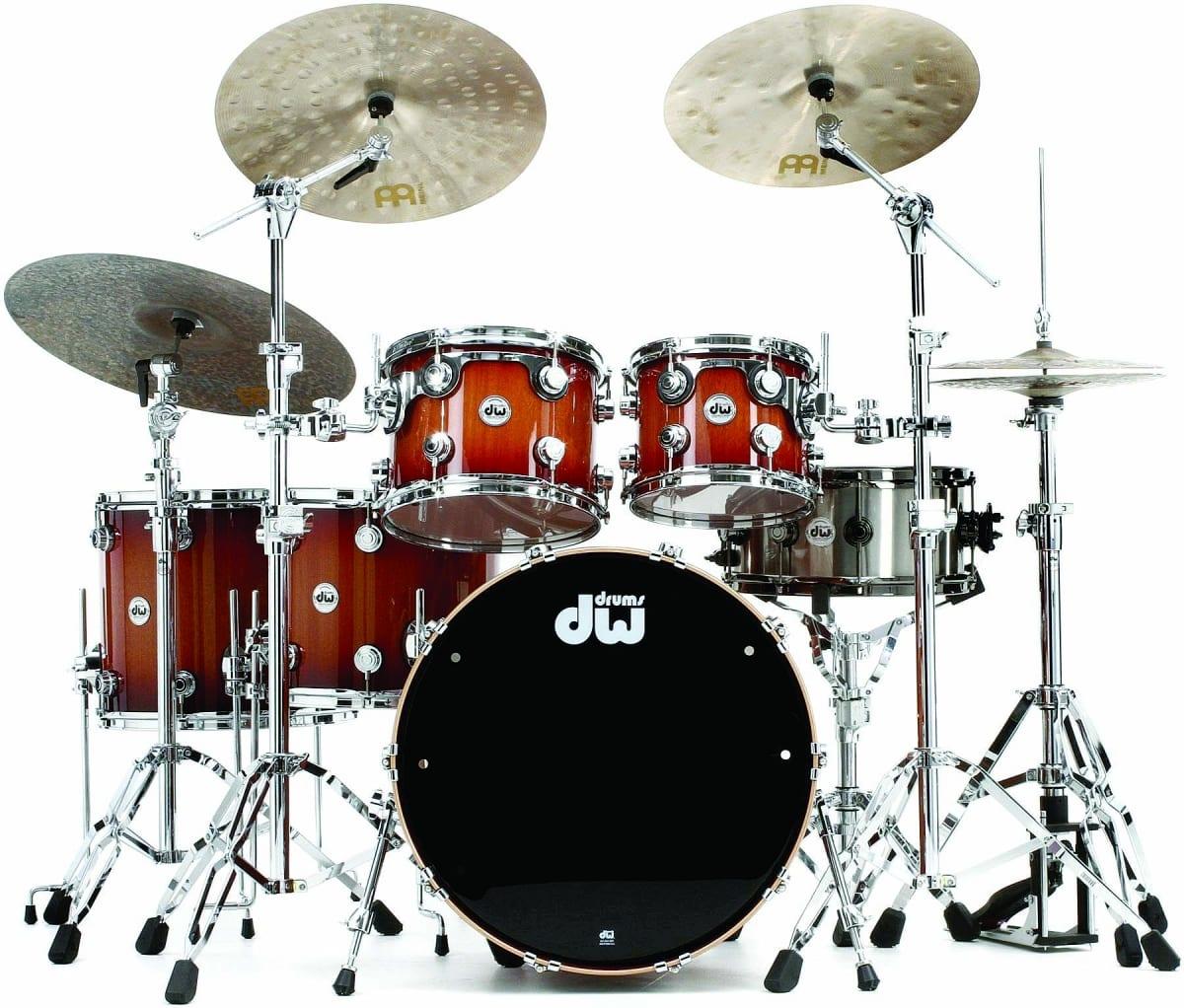 DW COLLECTOR'S SERIES CHERRY MAHOGANY SHELL PACK – 7 – PIECE