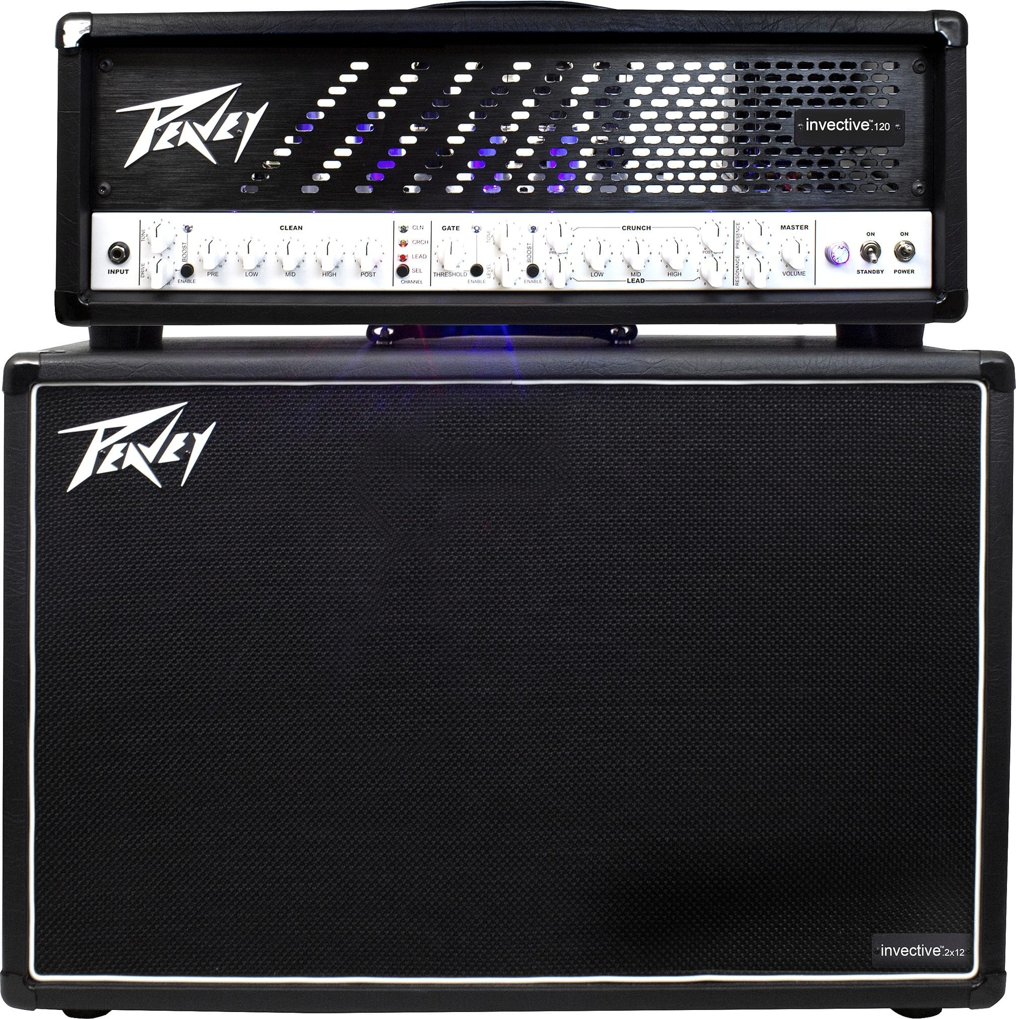 PEAVEY INVECTIVE.120 HEAD + INVECTIVE.212 CABINET